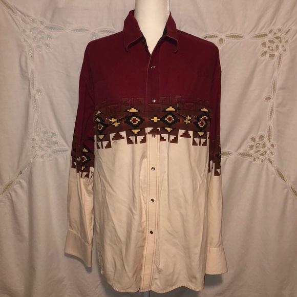 VTG-90s Wrangler western shirt (unisex)